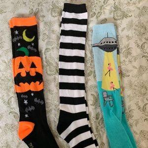 Creepy and Cute Knee Socks Bundle!